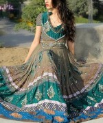 Latest Fashion of Frock Designs 2014 in Pakistan004
