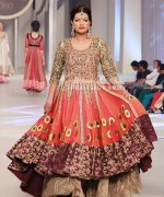 Latest Fashion of Frock Designs 2014 in Pakistan006