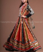 Latest Fashion of Frock Designs 2014 in Pakistan007