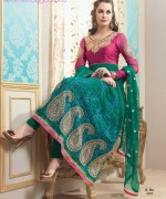 Latest Fashion of Frock Designs 2014 in Pakistan009