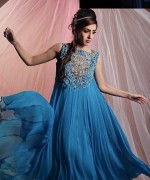 Latest Fashion of Frock Designs 2014 in Pakistan014