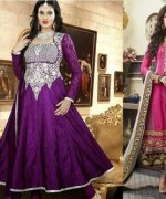 Latest Fashion of Frock Designs 2014 in Pakistan