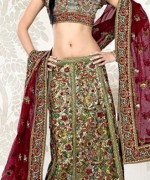 Lehenga Choli Dresses 2014 For Women 007
