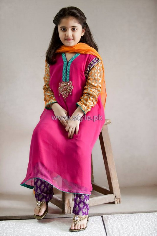 Maria B Kids Dresses 2014 For Winter 3