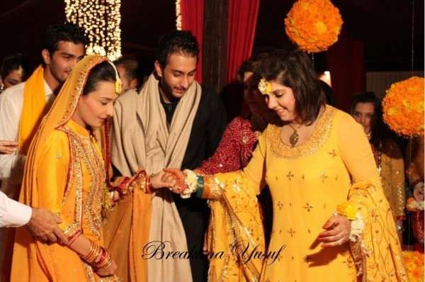 Momal Sheikh Wedding Pic 01