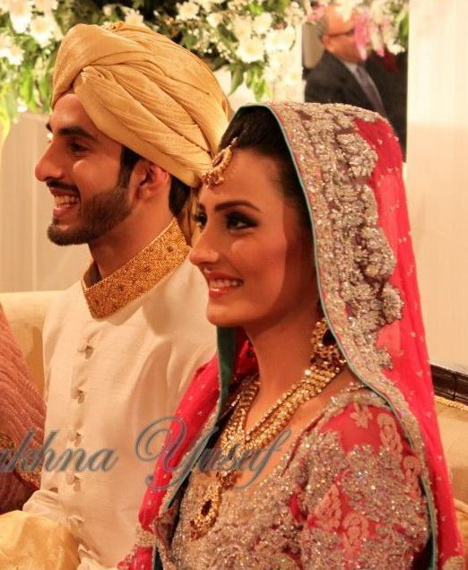 Momal Sheikh Wedding Pic 14