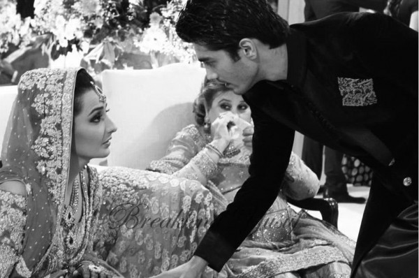 Momal Sheikh Wedding Pic 16