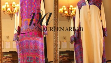 Naureen Arbab Winter Dresses 2014 For Girls 006