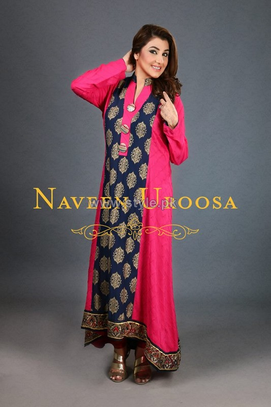 Naveen Uroosa Casual and Formal Dresses 2014 For Women 9