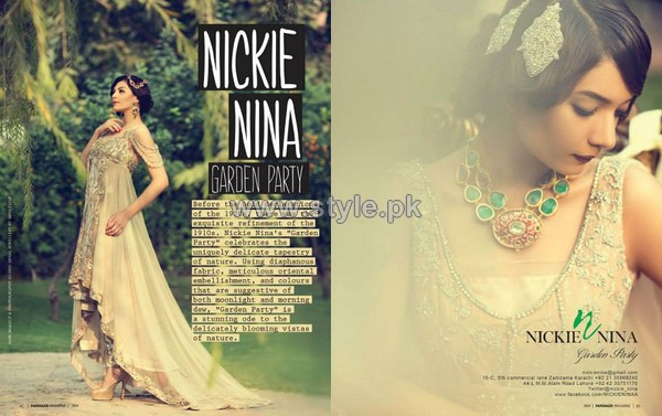 Nickie Nina Garden Party Collection 2014 For Girls 3