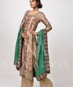 Nida Azwer Formal Wear Dresses 2014 for Women