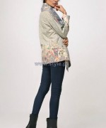 Nida Azwer Winter Jackets 2014 For Women 1