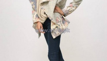 Nida Azwer Winter Jackets 2014 For Women 4