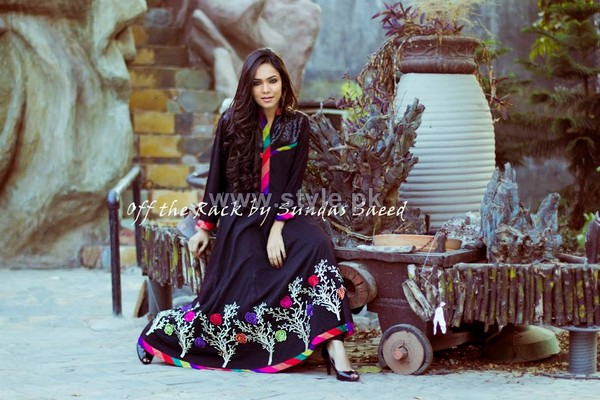 Off The Rack Winter Dresses 2014 by Sundas Saeed 6