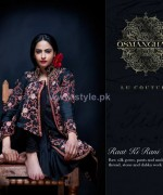 Osman Ghani Semi-Formal Dresses 2014 For Winter 1