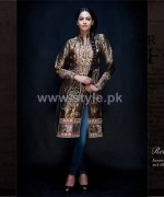 Osman Ghani Semi-Formal Dresses 2014 For Winter 2