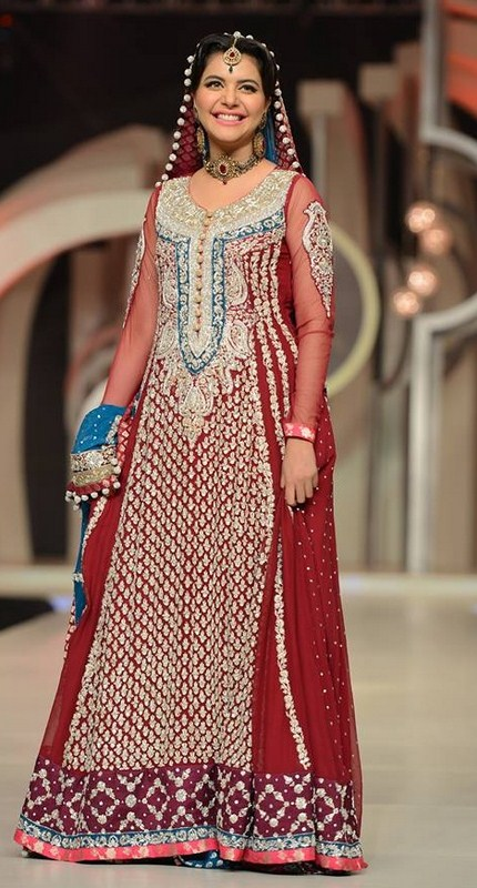 Pakistani Full Sleeve Wedding Dresses 2014 0015