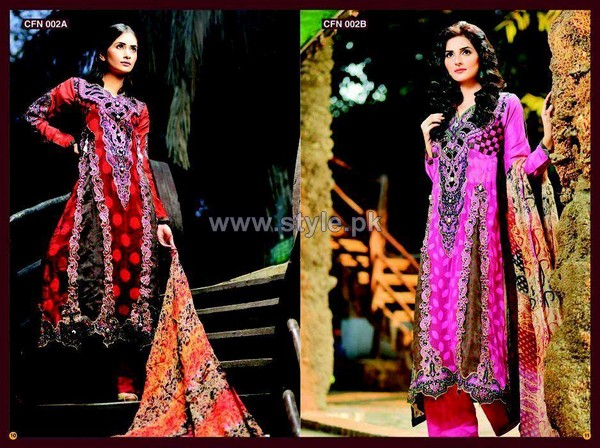Salam's Textile Winter Dresses 2014 For Women 6