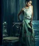 Sana Salman Party Wear Dresses 2014 For Winter 1