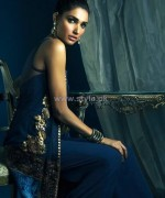 Sana Salman Party Wear Dresses 2014 For Winter 2