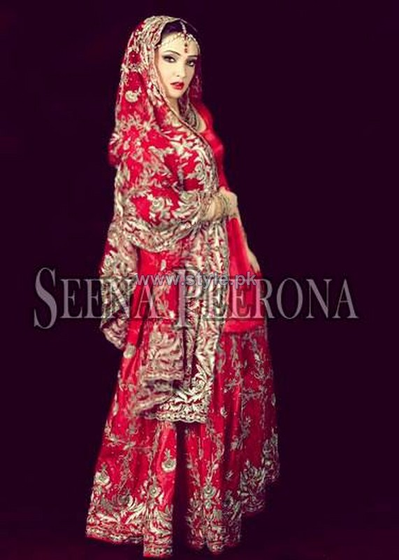 Seena Peerona Bridal Wear 2014 Dresses For Wedding 4