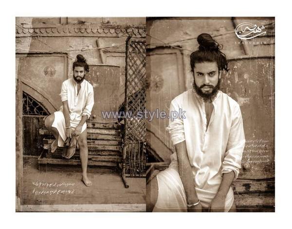 Shahnameh Heritage Men Dresses 2014 For Winter