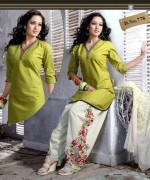 Shalwar Kameez Designs 2014 For Girls 004