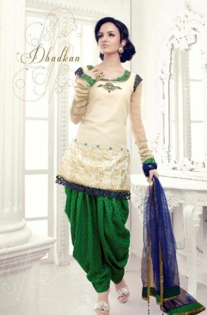 Shalwar Kameez Designs 2014 For Girls 005