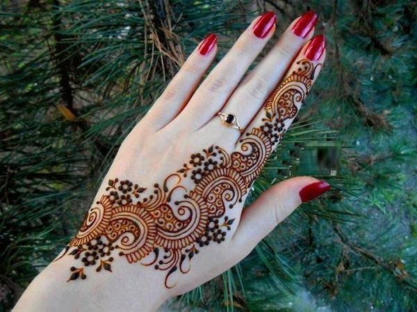 Mehndi For Girls Easy : Simple mehndi designs for girls