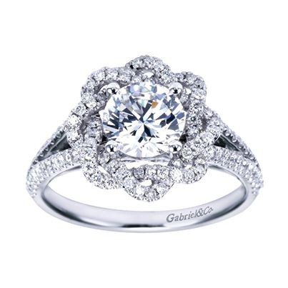simple engagement stunning beautiful rings and girlyard