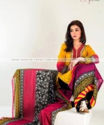 Suman Ayesha Winter Dresses 2014 For Women 004
