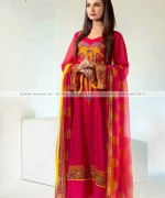 Suman Ayesha Winter Dresses 2014 For Women 006