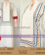 Tiska Winter Dresses 2014 For Girls 2 150x180 pakistani dresses