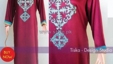 Tiska Winter Dresses 2014 For Women 6