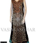 Vasim Asghar Party Dresses 2014 For Women 001
