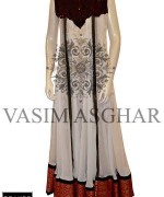 Vasim Asghar Party Dresses 2014 For Women 002