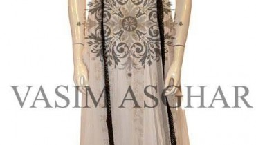 Vasim Asghar Party Dresses 2014 For Women 004
