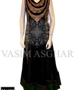 Vasim Asghar Party Dresses 2014 For Women