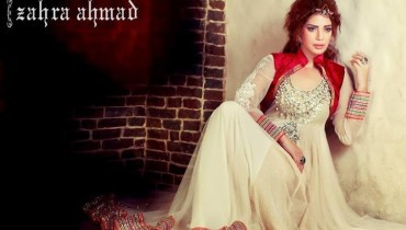 Zahra Ahmad Party Wear 2014 for Women