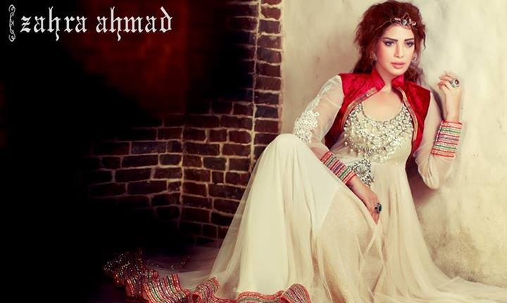 Zahra Ahmad Party Wear 2014 for Women008 pakistani dresses