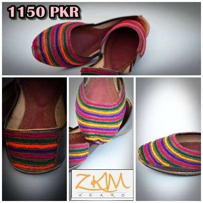 Zari Khussa Mahal Winter Khussa 2014 For Women