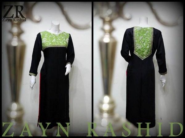 Zayn Rashid Winter Dresses 2014 For Women 004