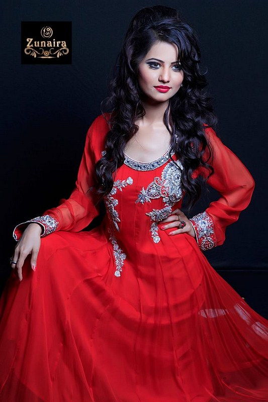 Zunaira's Lounge Party Dresses 2014 For Women 007