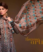 Al Hamra Textiles Spring Dresses 2014 for Women003