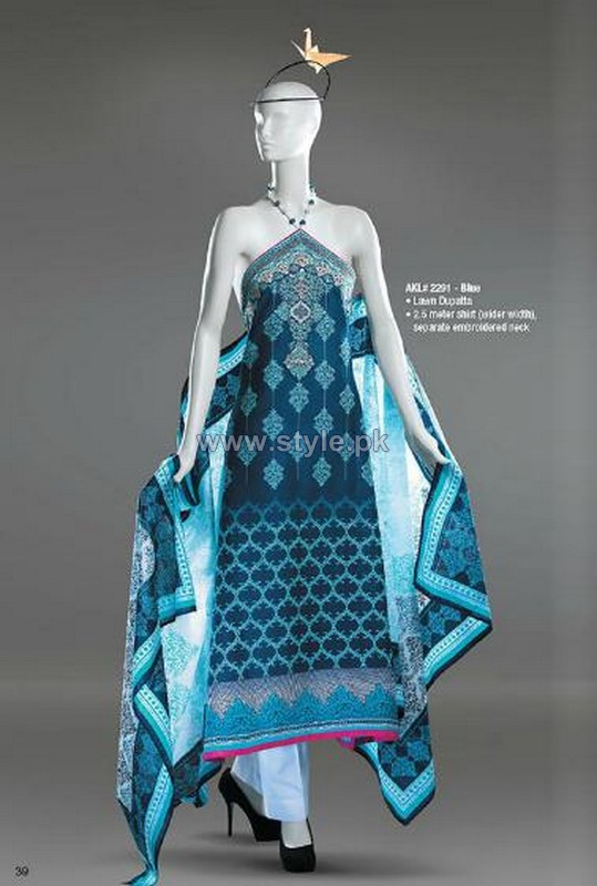 Al-Karam Spring Summer Dresses 2014 Volume 1 8