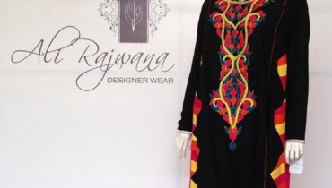 Ali Rajwana Spring Dresses 2014 for Women