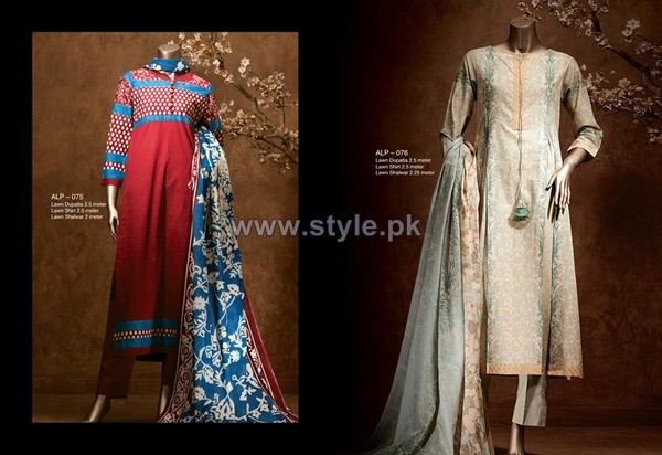 Almirah Lawn Dresses 2014 For Women 9