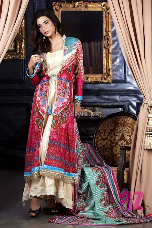 Anum Classic Lawn Dresses 2014 For Women 10