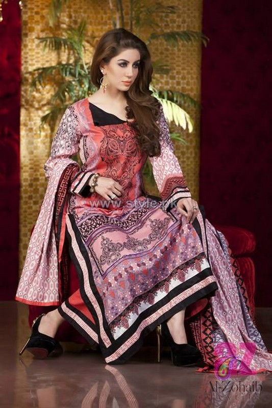 Anum Classic Lawn Dresses 2014 For Women 12