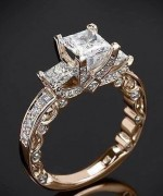 Attractive Diamond Rings for Women002